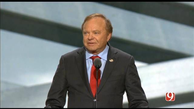 WEB EXTRA: Oklahoma Businessman Harold Hamm Speaks At The RNC