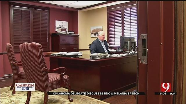 Oklahoma Delegate Discusses RNC, Melania Speech