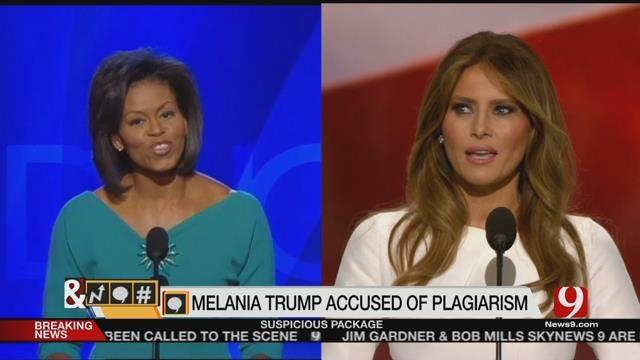 Trends, Topics & Tags: Melania Trump Plagiarizes Michelle Obama