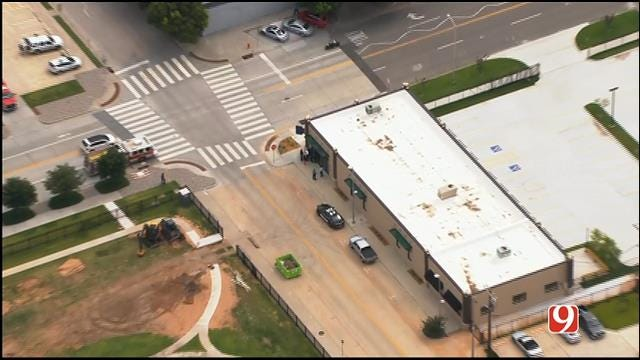 Scene Clear At BBB Building In Downtown OKC