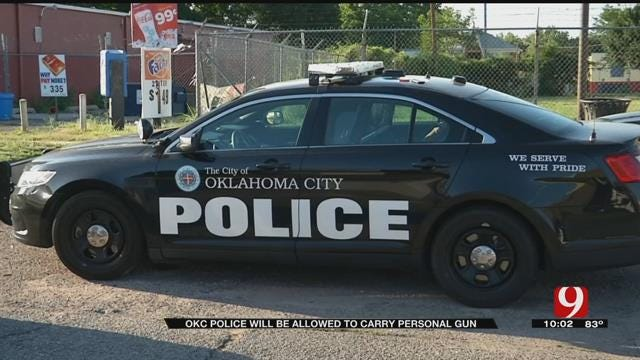 OKC Police Will Be Allowed To Carry Personal Firearms
