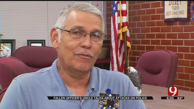 Fallen Dallas Officer's Uncle Talks About Baton Rouge Shooting