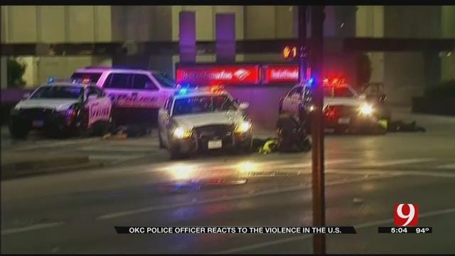 OKC Officer Shares How Life Has Changed Since Dallas, Baton Rouge