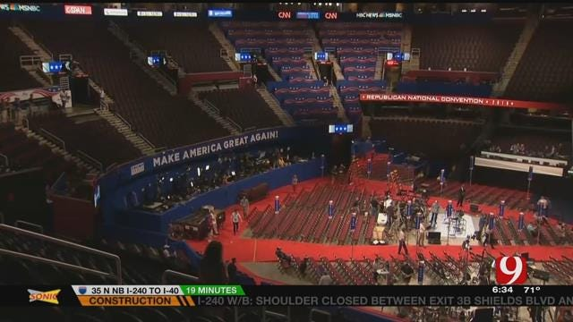 Republican National Convention Begins Monday In Cleveland