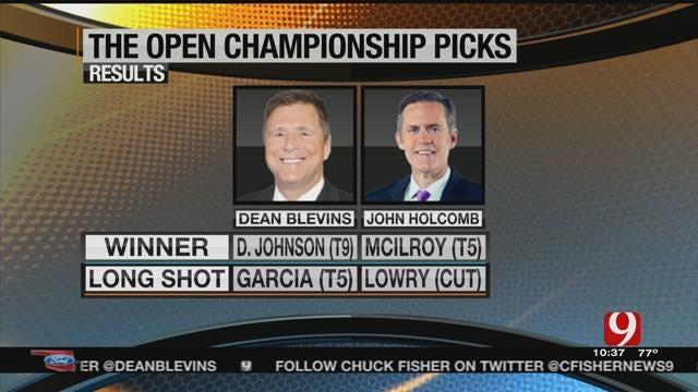 Dean and John's Open Championship Picks
