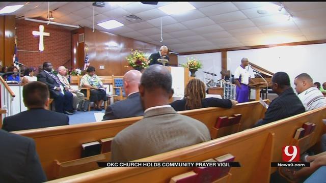 OKC Church Holds Community Prayer Vigil