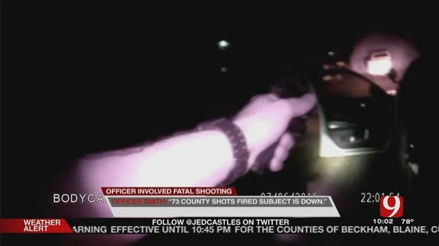 Body Cam Video Released Of Armed Man Shot, Killed By Rush Springs Officer