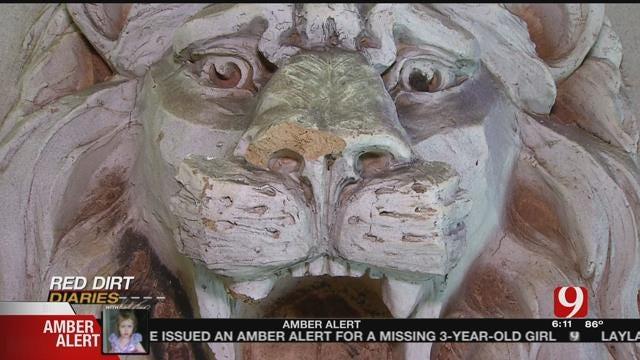 Red Dirt Diaries: Jones Historian Finds Lost Artifacts