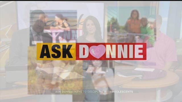Ask Donnie: Disciplining Adolescents
