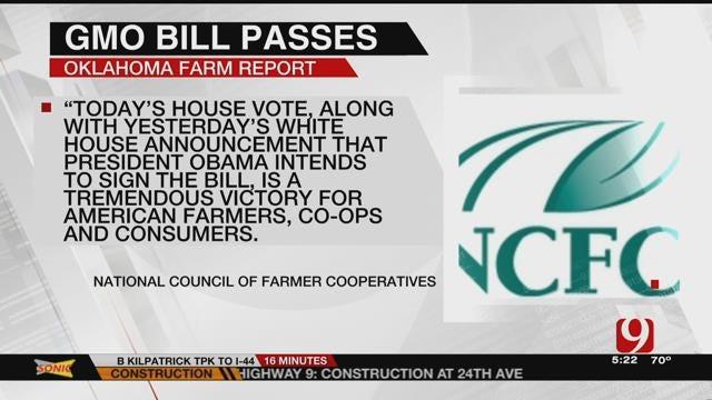 AG REPORT: GMO Labeling Bill Passes