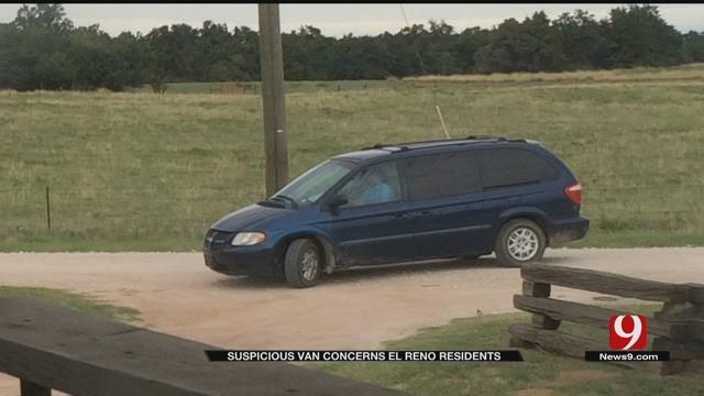 Suspicious Van Concerns El Reno Residents