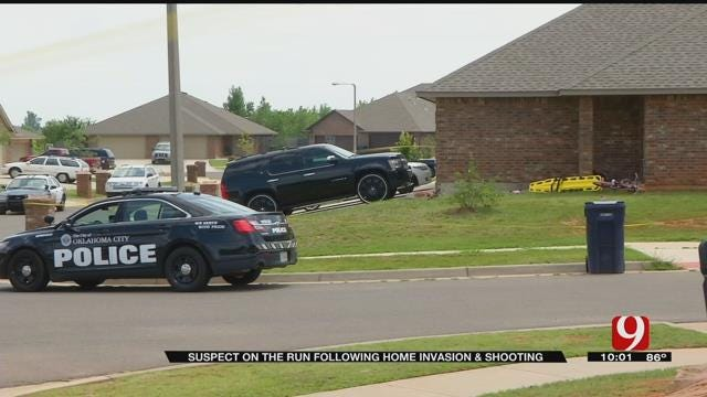 One Suspect On The Run After Violent Home Invasion In NW OKC