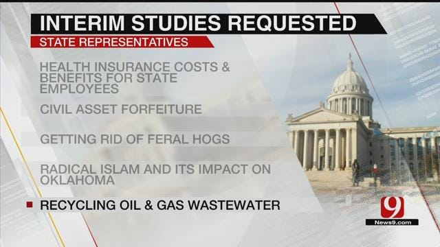 A Look At Interim Studies Requested By State Reps.