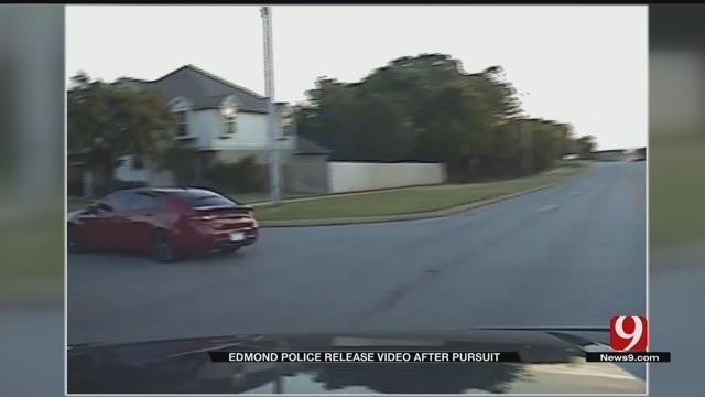 Edmond PD Release Video After Pursuit