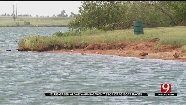 Blue-Green Algae Warning Won't Stop Drag Boat Races At Lake El Reno