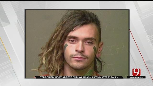 Edmond Man Arrested, Accused Of Attempted Terrorism Hoax At Rally