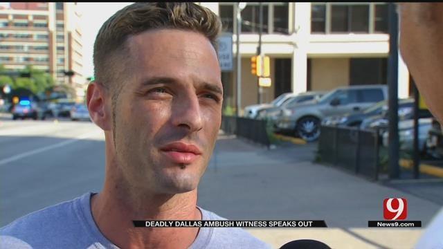 Witness Reflects On Deadly Dallas Ambush
