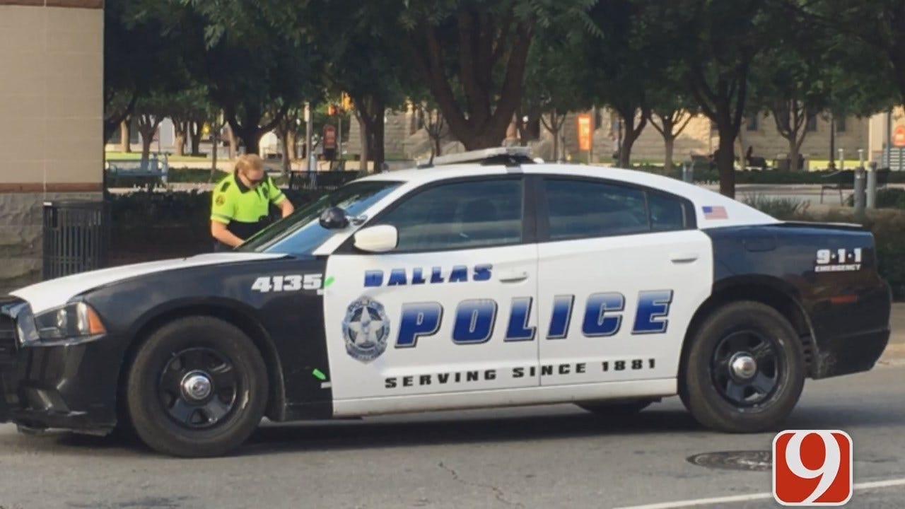 WEB EXTRA: Justin Dougherty Reports On Massive Crime Scene Of Dallas Officer Killings