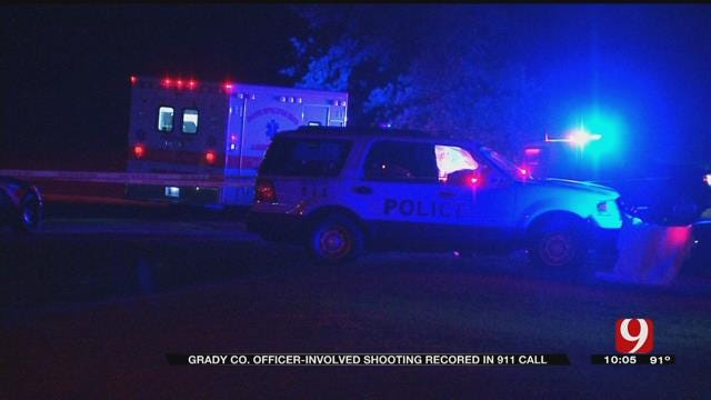 Grady Co. Officer-Involved Shooting Recorded In 911 Call