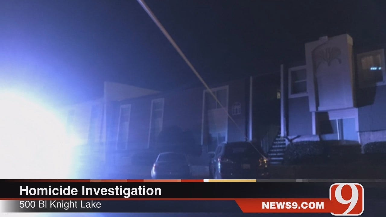 WEB EXTRA: Police Investigate Shooting Death Of Man At OKC Apartment