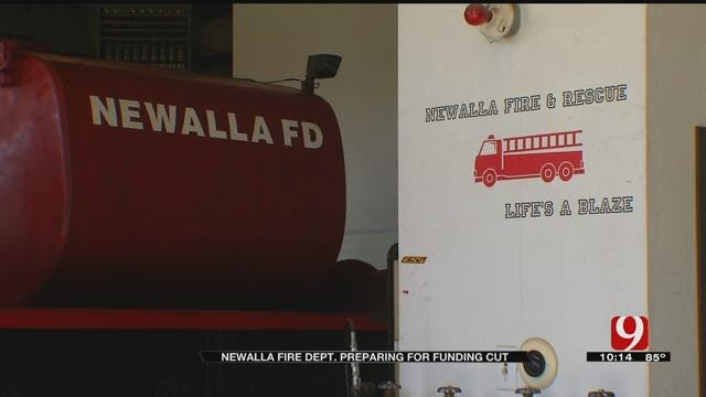 Newalla Fire Dept. Prepares For Funding Cut