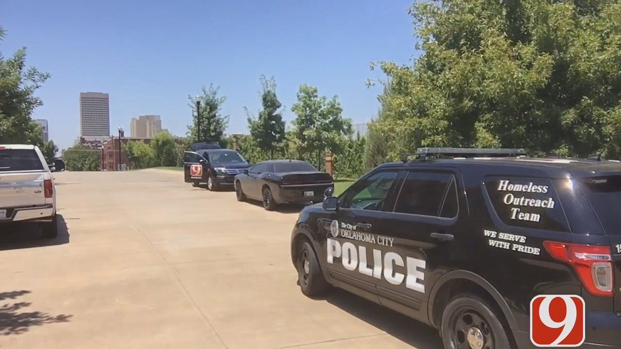 WEB EXTRA: Karl Torp Reports On Police Patrol Near Kevin Durant's Home