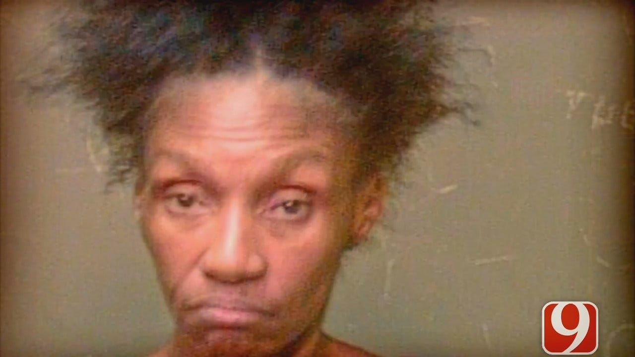 Woman Arrested For Nearly Biting Off Person's Ear In NW OKC