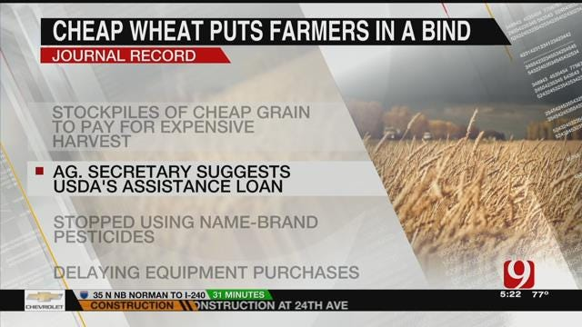 AG REPORT: Farmers Face Decrease In Wheat Prices