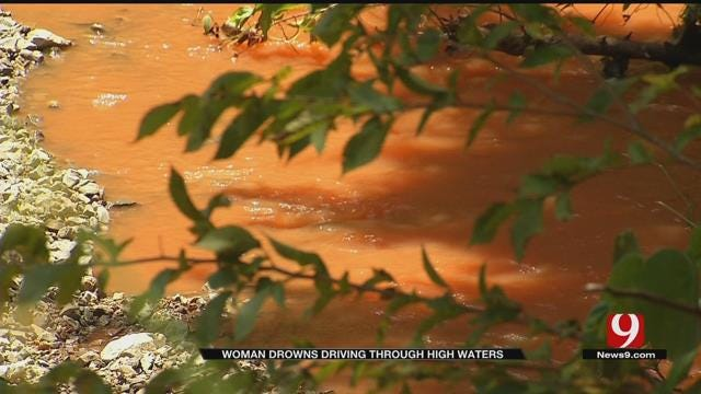 Woman Drowns After Driving Through High Waters