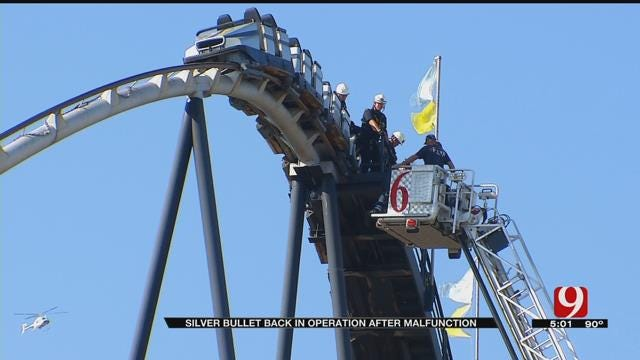 Roller Coaster Reopens After Malfunction At Frontier City