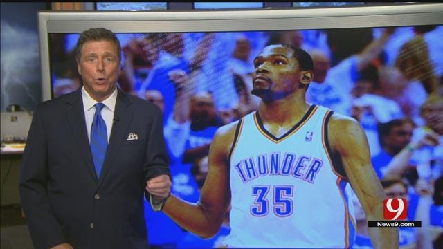 Kevin Durant Met With Thunder on Thursday