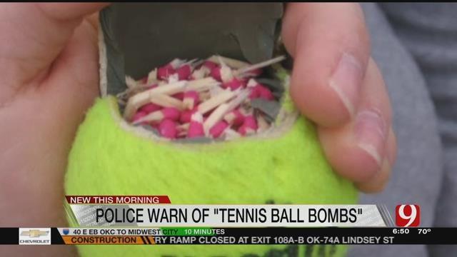 Police Warn Dog Owners Of Firework Tennis Ball Bombs
