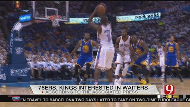 Report: 76ers, Kings Interested In OKC's Dion Waiters