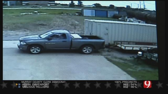 Construction Company Offering Reward After Work Trailer Theft