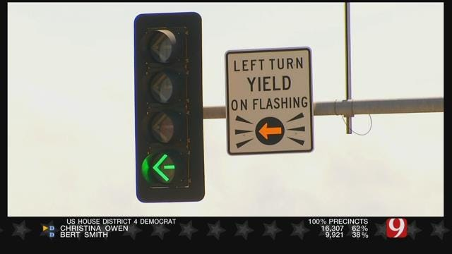 Norman Police Educate Drivers About Difficult Intersection