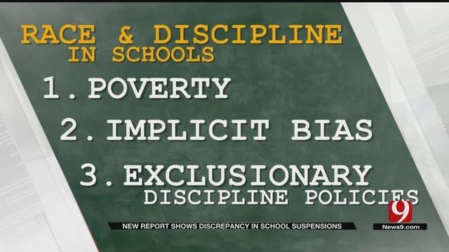 Study Finds Racial Disparity In Oklahoma School Discipline