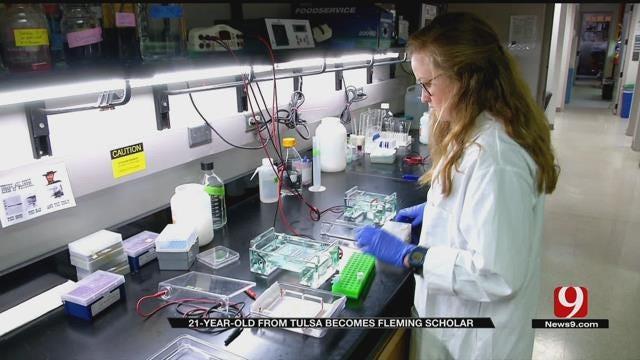 Medical Minute: Fleming Scholar