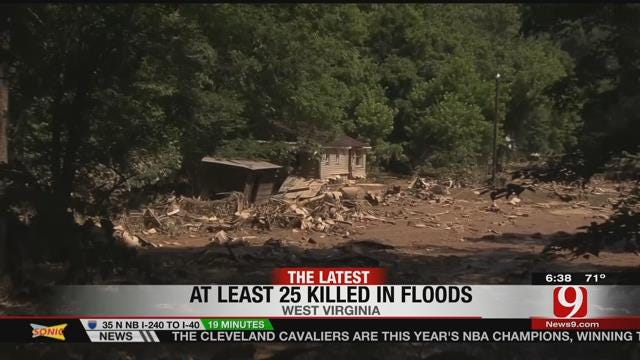 Parts Of West Virginia Expecting More Heavy Rains