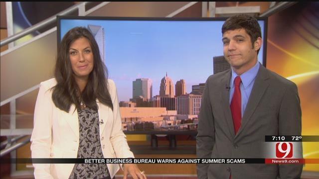 Better Business Bureau Warns Against Summer Scams