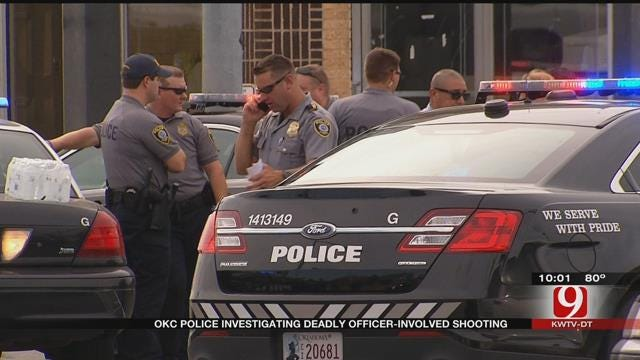 Suspect Dead, Three Officers On Leave Following Officer-Involved Shooting In NW OKC