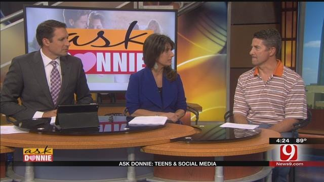 Ask Donnie: Teens & Social Media