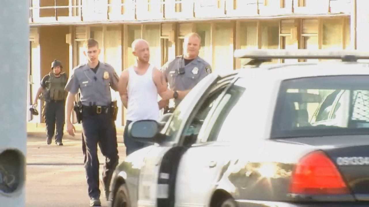 WEB EXTRA: Suspect Arrested Following Standoff At SE OKC Motel