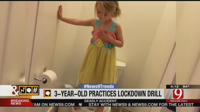 Trends, Topics & Tags: 3-Year-Old Practices Lockdown Drill