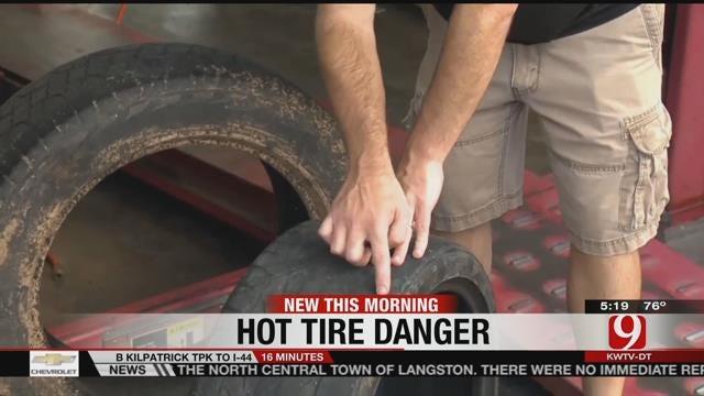 Hot Tire Dangers