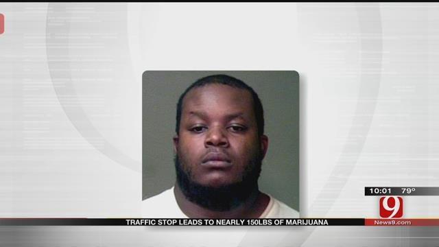 Traffic Stop Leads To Nearly 150 Pound Marijuana Bust In OKC
