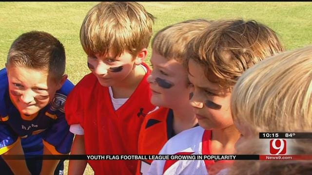 Edmond Youth Flag Football League Growing In Popularity