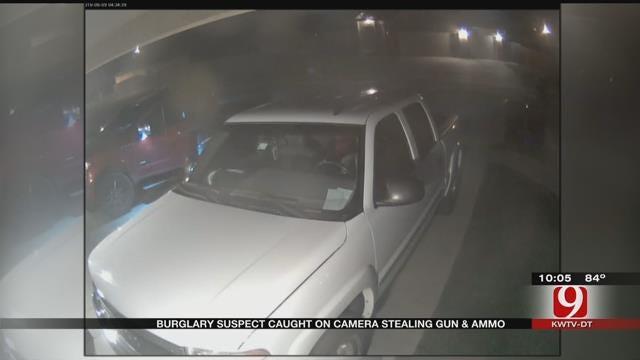 OCPD: Handgun, Ammo Stolen In SW OKC Auto Burglary