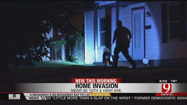 Police Search For Suspects Involved With Home Invasion In SE OKC