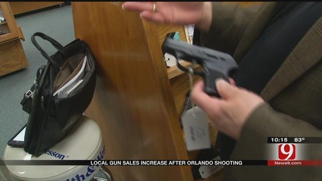 Gun Sales Spike In Oklahoma Following Orlando Mass Shooting