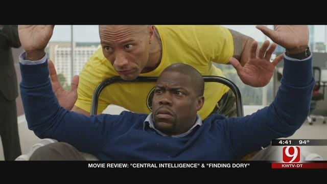 Dino's Movie Moment: Central Intelligence, Finding Dory